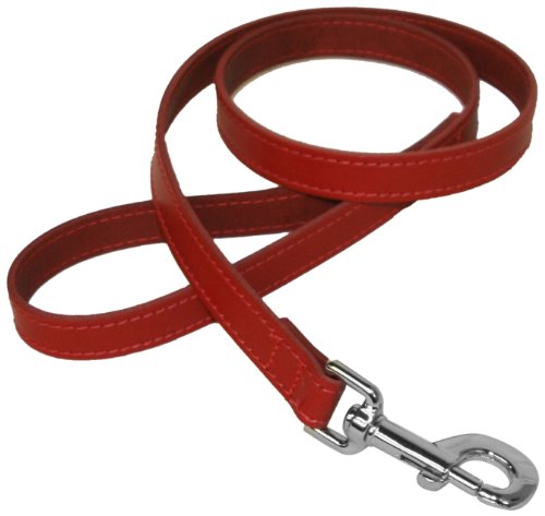 bbd-3-4-x-40-inch-leather-lead-red