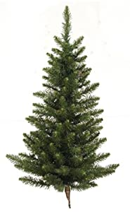 #!Cheap 5' Camdon Fir Artificial Christmas Wall or Door Tree - Unlit