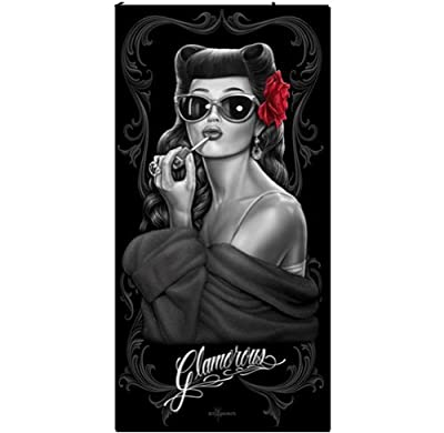 Glamorous Beach Towel By David Gonzales Art