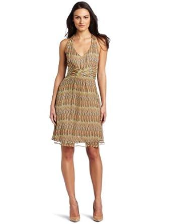 Ella Moss Women's Braid T-Strap Dress, Multi, X-Small