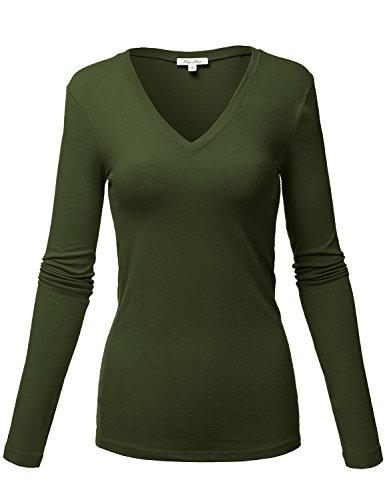 Cute Basic Short Sleeve V-neck Cotton Crop Tops