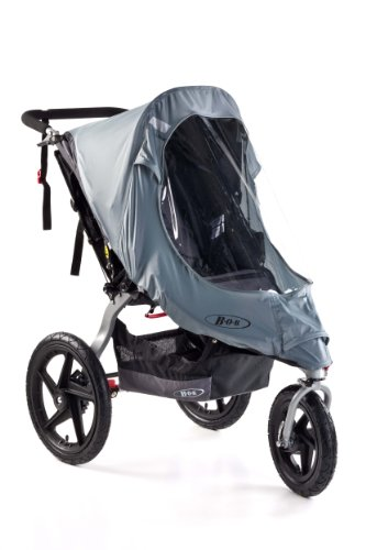 Bob Weather Shield para la revolución individual / Modelos Stroller Strides, Gray