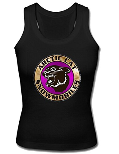 Soothing Women's Custom vintage arctic cat snowmobiles Shoulder-Free Tank Top S Black (Arctic Cat Snowmobile Clothing compare prices)