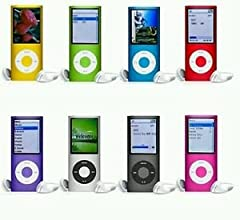 "8GB Slim 1.8"" LCD Music video MP3 MP4 radio FM 4th Generation Player"