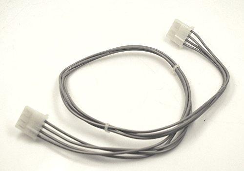 Fujitsu A3C40057451 HDD Power Kabel 61 cm grau 2x 4-pol HDD 84003276 10600405554 für PRIMERGY TX200 S2