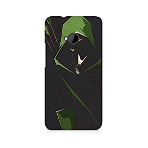 TAZindia Printed Hard Back Case Cover For HTC One M7