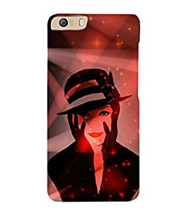 Kill You With My Face 3D Hard Polycarbonate Designer Back Case Cover for Micromax Canvas Knight 2 E471