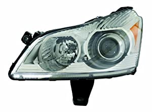 Chevy Traverse 09-11 Headlight Assembly LTZ MODEL Driver Side