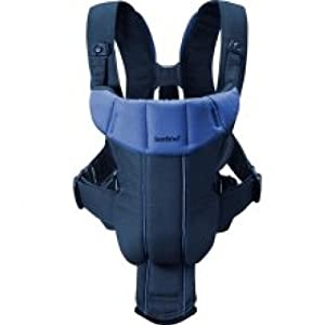 BABYBJORN Baby Carrier Active, Dark Blue/Blue