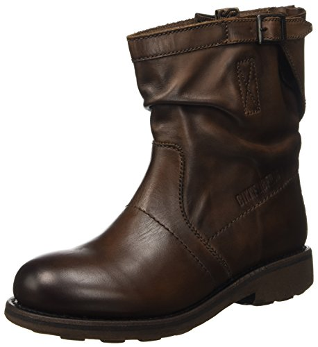 Bikkembergs Vintage 716 L.Boot W Dyed Leat, Scarpe a Collo Alto Donna, Marrone (Tdm), 38 EU