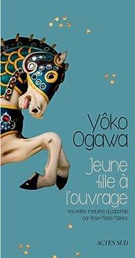 Jeune fille à l'ouvrage par Ogawa