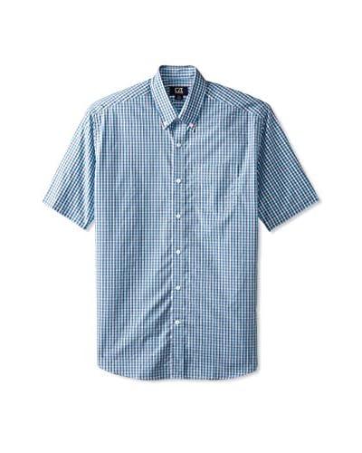 Cutter & Buck Men's Figure Eight Check Short Sleeve Shirt