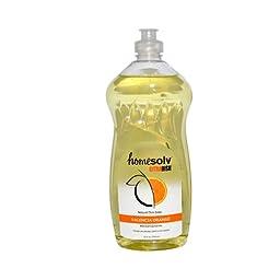 Valencia Orange Citra Dish Natural Dish Soap Liquids - 25 fl oz,(Citra-Solv) ( Multi-Pack)