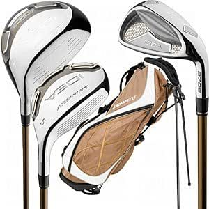 Adams Golf A7OS Starter Set (Ladies, Right Hand, Petite, 7 Piece, Color Bronze, Grafalloy Ladies Flex Shaft)
