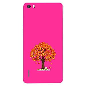Skin4gadgets Fall Tree Colour - Medium Orchid Phone Skin for HONOR 6