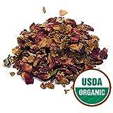 Starwest Botanicals Organic Red Rose Buds & Petals Whole, 1 Pound