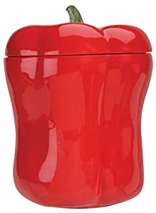 Red Bell Pepper Food Canister