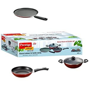 Prestige Induction Base Non-Stick Kitchen Set 3-Pieces at 37% Off