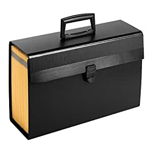 "Pendaflex Portafile Expanding Organizer, 15 1/8""x 10 5/8"", Black (01156)"