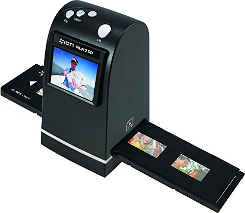 ION Film 2 SD | 35mm Slide and Negative Scanner with SD Card (5 Megapixel sensor) (2 35 Screen compare prices)