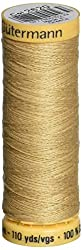 Natural Cotton Thread 110 Yards-Sahara