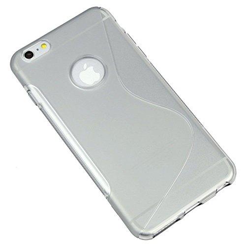 Coque en Gel Silicone TPU Coque Transparent Étui Housse Coque Silicone S-Line pour Apple iPhone 5