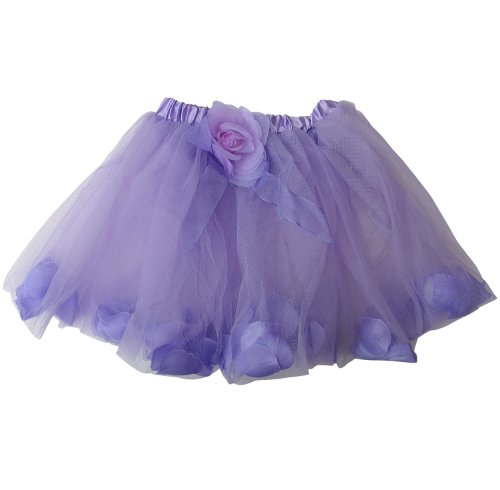 Original Flower Petal Girls Dance Dress-Up Princess Fairy Costume Dance Tutu
