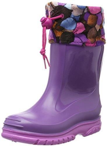 Romika Unisex-Kinder Slimmy Kurzschaft Gummistiefel, Violett (Viola-Pink 575), 23 EU