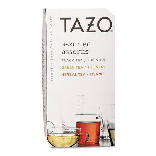 New - Assorted Tea Bags, Three Each Flavor, 24 Tea Bags/Box - 153966