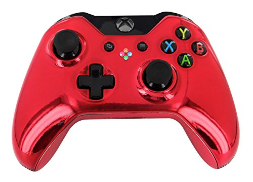 """""""Chrome Red"""" Xbox One Custom Modded Controller Exclusive Design - Cod Ready & Fully Loaded Mods"""