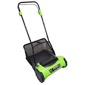 CEL CY1 POWERmow 16-Inch 24-Volt 7 amp Cordless Electric Reel Lawn Mower with Grass Bag