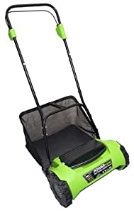 CEL CY1 POWERmow 16-Inch 24-Volt 7 amp Cordless Electric Reel Lawn Mower with Grass Bag (Discontinued by Manufacturer)