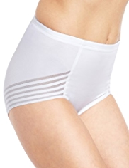 Firm Tummy Control No VPL High Leg Knickers