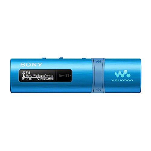 Sony NWZ-B183F Lettore Musicale Walkman, Memoria Interna 4GB, Radio FM, Azzurro