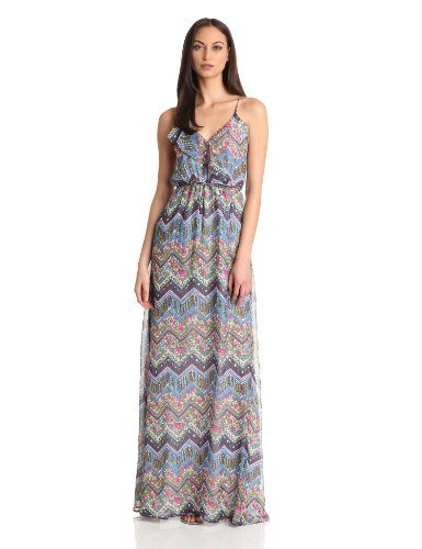 Nieves Lavi Women's Collection Maxi Dress, Carnegie, Medium