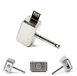Super Hero Metal Hammer Cool Fancy USB Flash 32 GB Pen Drive