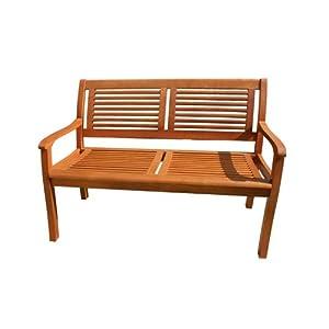 gartenbank eukalyptus 2 sitzer holzbank gartenbank holz. Black Bedroom Furniture Sets. Home Design Ideas