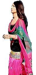 Shree Fashion Women's Net Unstitched Dress Materials [D92]