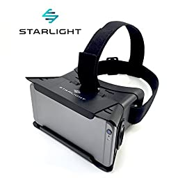 Starlight Virtual Reality VR Headset - 3D Adjustable Goggle Glasses for 3.35\