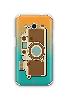 YuBingo Vintage Camera Mobile Case Back Cover for Samsung Galaxy Core 2
