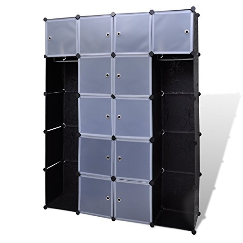 modular-cabinet-with-14-compartments-black-and-white-37-x-150-x-190-cm