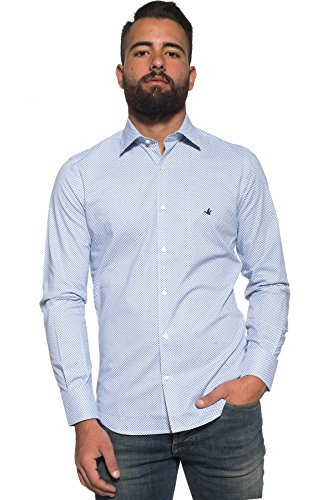 Brooksfield - Camicia manica lunga da Uomo - Bianco 43