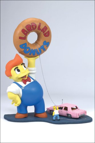 Picture of McFarlane The Simpsons Boxed Set Lard Lad Figure (B000GQ0MGK) (McFarlane Action Figures)