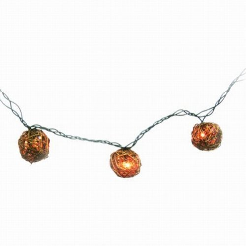 Home Grapevine Ball String Light Set In or Out Patio Lights New eBay