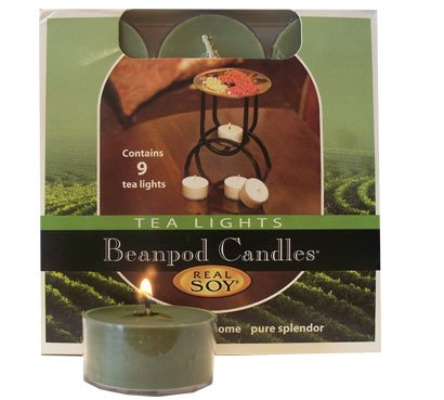 Beanpod Candles Eucalyptus Lavender, Tea Light, 9-count Box