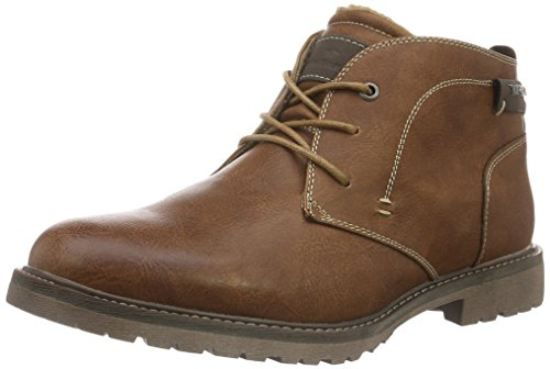 tom-tailor-mens-1680303-warm-lined-short-shaft-boots-and-bootees-brown-size-9