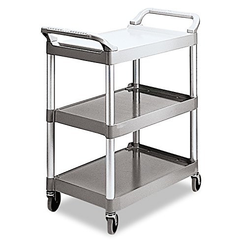 rubbermaid-commercial-products-fg342488plat-servicewagen-aus-kunststoff-3-boden-platin