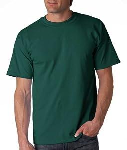 Gildan Adult Ultra Cotton T-Shirt, Forest Green, XXX-Large. 2000