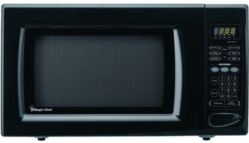 Magic Chef - 1.6 Cubic-Ft, 1,100-Watt Microwave With Digital Touch (Black) *** Product Description: Magic Chef - 1.6 Cubic-Ft, 1,100-Watt Microwave With Digital Touch (Black) 1.6 Cu-Ft Capacity 1,100W Digital Touch 10 Power Levels 6 Preprogrammed ***