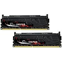 G.Skill 16GB 2 X 8GB DDR3 PC3-14900 1866MHz Sniper Series 9-10-9-28 Dual Channel Kit F3-1866C9D-16GSR